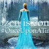 A still that was taken from the sneak preview of Once Upon a Time's Frozen inspired storyline