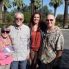 Cheri Keaggy with her dad and the MacLeods